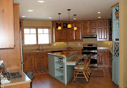 triangular kitchen island retirement home lake foster and hudson home improvement 2009