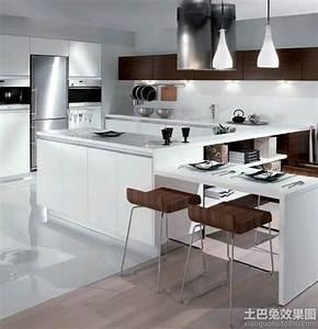 Modele de cuisine moderne cuisine incorporee cuisines for Idee deco cuisine avec cuisine aménagée contemporaine