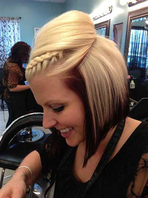 braided bob styles bob hairstyles  short