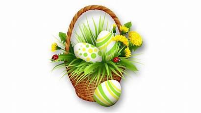 Easter Bunny Basket Clipart Flower Transparent Background