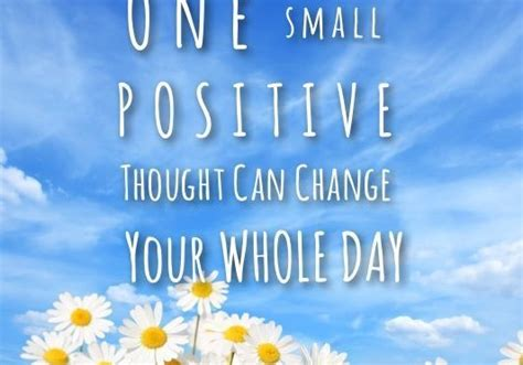 Small positive thought | The Alee Blog