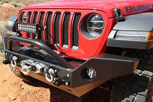 Fairlead Light Bar Mount Rock Hard 4x4 Patriot Series Mid Width Front Bumper W