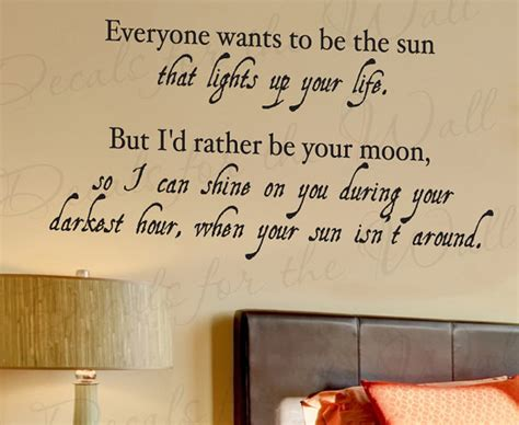 Bedroom Wall Quotes Quotesgram