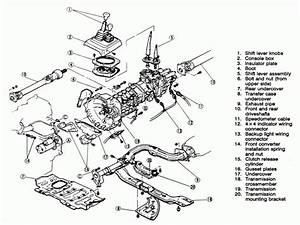1988 Toyota Pickup Transmission Diagram