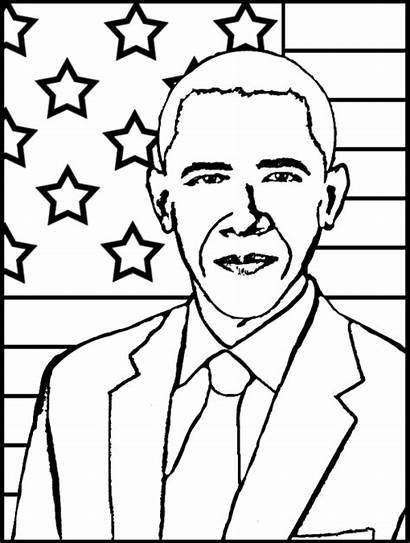 Obama History Month Coloring Sheet Printables Barack