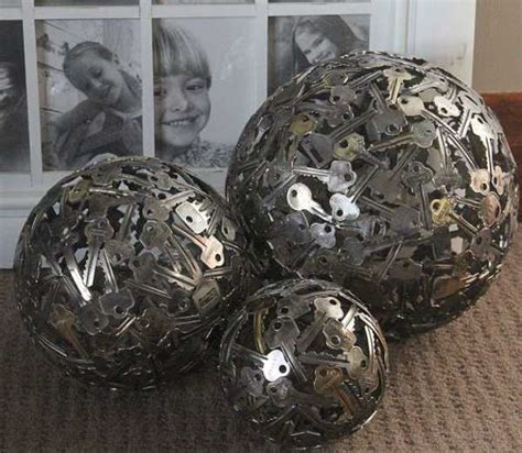 unique crafts  home decorations   reclaimed coins