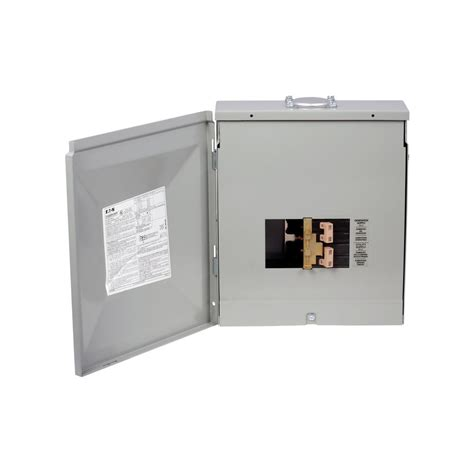 eaton 8 circuit outdoor manual transfer switch ch48gen3060r the home depot