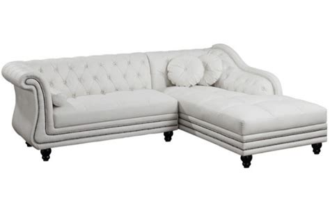 canape chesterfield blanc canapé d 39 angle gauche blanc chesterfield diana kate design
