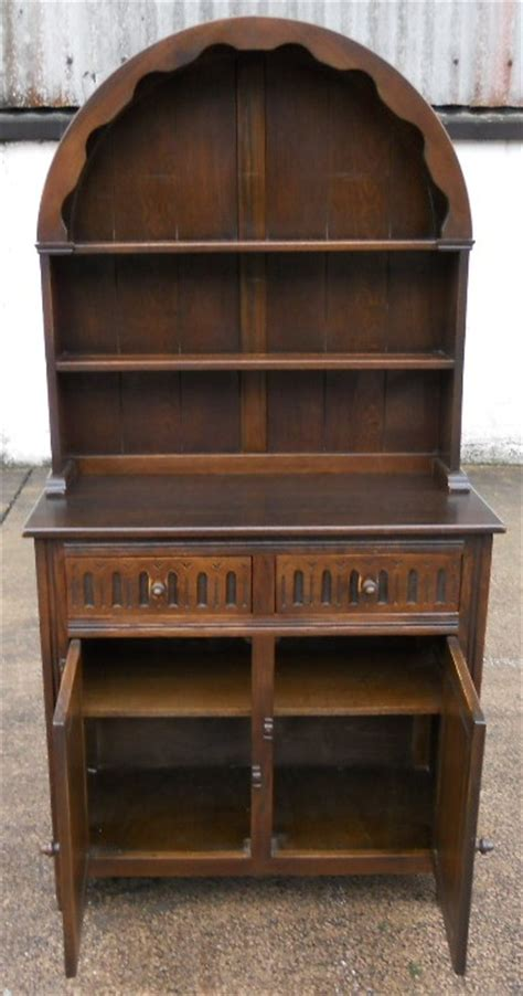 small antique style elm dome top welsh dresser  jaycee
