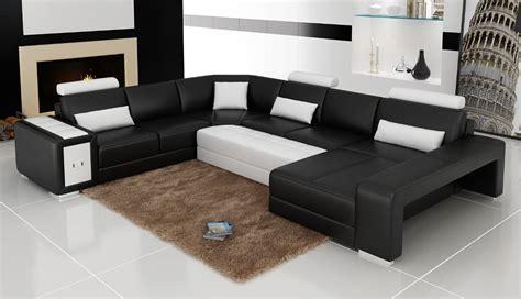 canapé panoramique cuir center canapé panoramique cuir modeno canapé d 39 angle en cuir