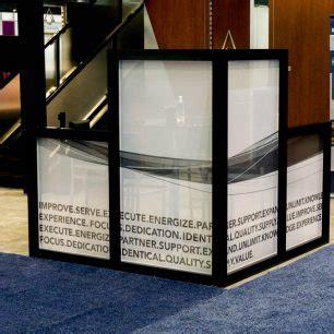 glass trade show booth ideas glass design
