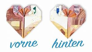 Herz Basteln Geld : geld falten herz hochzeit geldgeschenk basteln youtube ~ A.2002-acura-tl-radio.info Haus und Dekorationen