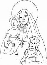 Cabrini Coloring St Frances Pages Francis Education Mother Catholic Children Catechism Saints Scribd Colorare Da Francesca Immagini Religious sketch template