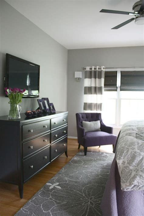 purple and gray bedroom grey and purple bedroom decorating ideas pinterest