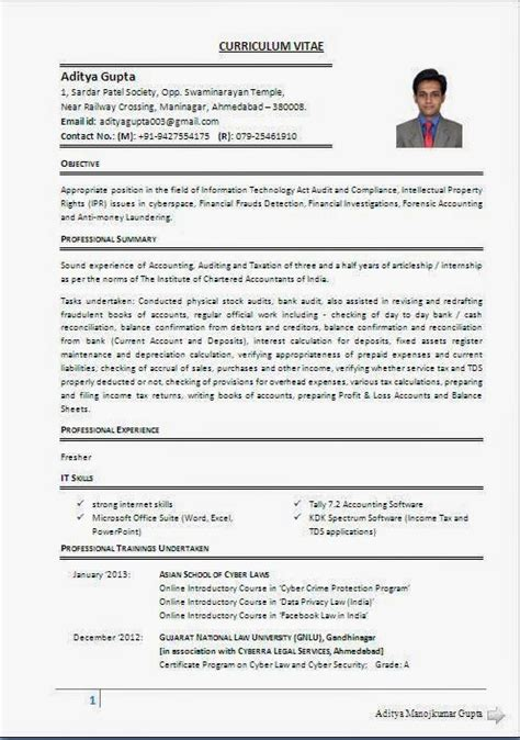International Resume Standards by Curriculum Vitae International Curriculum Vitae Format