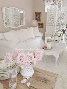 Shabby Chic Mode : 32 best shabby chic living room decor ideas and designs for 2018 ~ Markanthonyermac.com Haus und Dekorationen