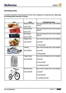 rounding worksheets pdf rounding money
