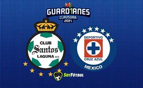 Santos vs Cruz Azul: Horario y dónde ver el partido de la ...