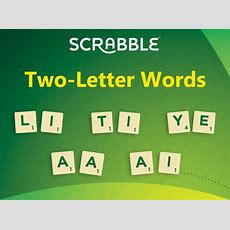 Twoletter Words To Play On Scrabble Day  Scrabble Blog  Scrabble  Collins Dictionary