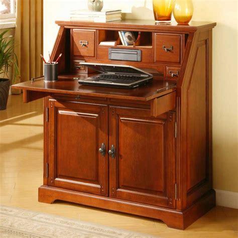 Home Design Amazing Narrow Secretary Desks Within Small