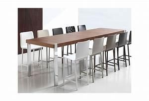 Table Haute A Manger : table a manger haute table basse blanche et verre maison boncolac ~ Teatrodelosmanantiales.com Idées de Décoration