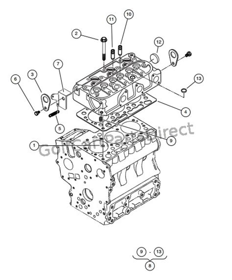 Club Car Xrt Part Diagram by Club Car Parts Manual