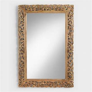 Natural Segovia Mirror World Market