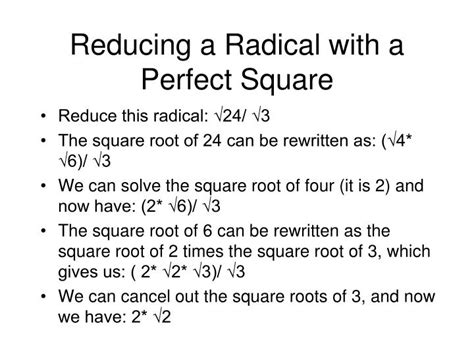 ppt unit 5 radicals and equations of a line powerpoint