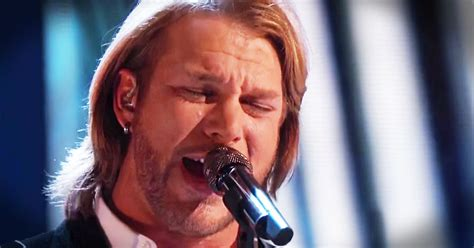 cross rugged voice winner version craig wayne hymn mashup sings amazed ages stand rock country boyd performance he sang