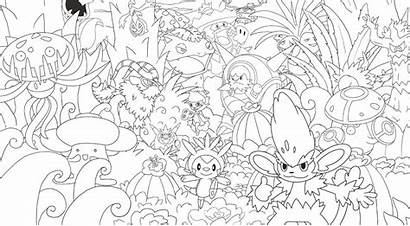 Pokemon Colouring Creative Official Mighty