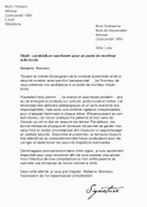 Moniteur Auto Ecole : mod les de lettres de motivation pour l 39 automobile ~ Medecine-chirurgie-esthetiques.com Avis de Voitures