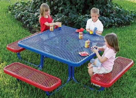 ultraplay mighty tuff picnic table 46 quot square 447 | 43044