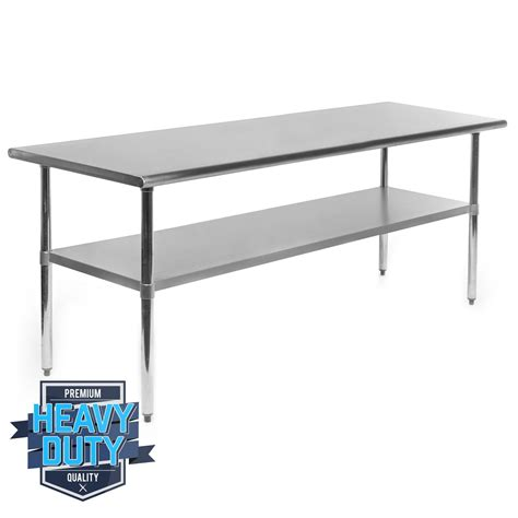 stainless steel kitchen restaurant work food prep table