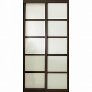 Contractors Wardrobe 48 in. x 96 in. Tranquility Glass ...
