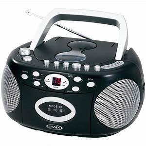 Radio Cd Kassette : jensen cd 540 r refurbished portable stereo cd player ~ Jslefanu.com Haus und Dekorationen