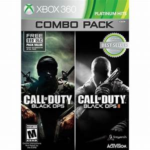 Call Of Duty Black Ops 1 2 Combo Pack Platinum Hits