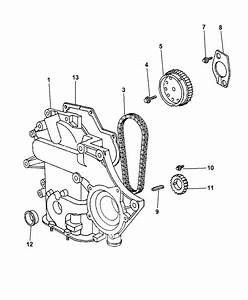 2003 Dodge Grand Caravan Timing Chain  U0026 Cover