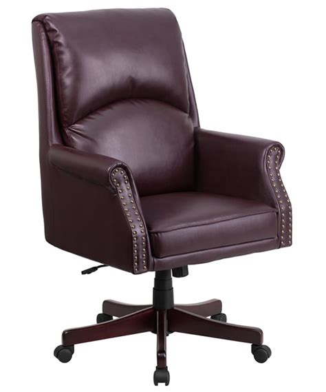 btod high back traditional leather office chair on sale