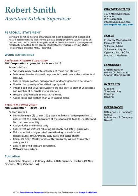 kitchen steward sample resume  resume ideas