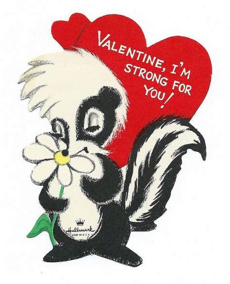 Vintage Valentine Day Card - Valentine, I'm Strong For You ...
