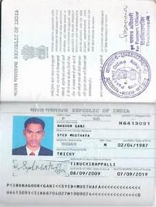 Indian Passport Copy | www.pixshark.com - Images Galleries ...