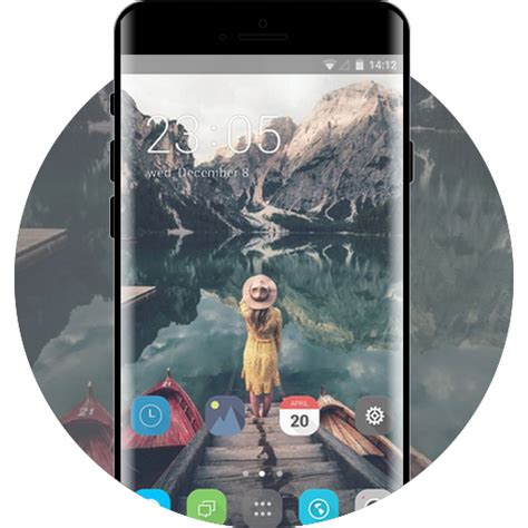 jio phone  android theme  launcher