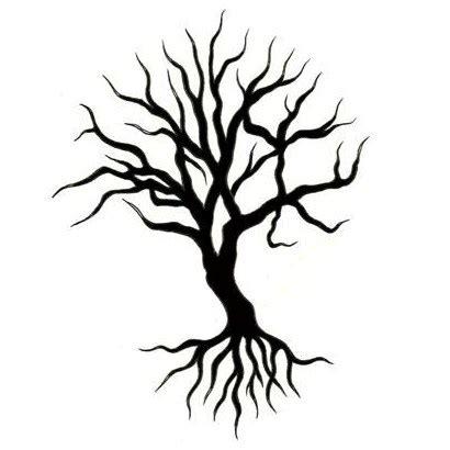 awesome tribal tree tattoos