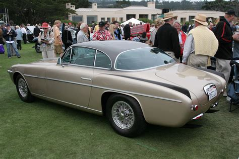 It's a big money ferrari and you can find out more about it here. Ferrari 375 America Vignale Coupe - Chassis: 0301AL - 2005 Pebble Beach Concours d'Elegance