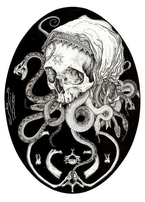 Morbid Tattoo Inspired Artworks Elias Aquino
