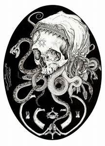 Morbid Tattoo-Inspired Artworks : Elias Aquino