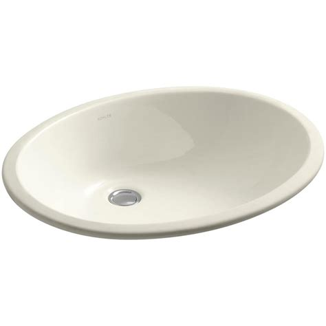 Ladena Sink Home Depot by Kohler Ladena Vitreous China Undermounted Bathroom Sink In