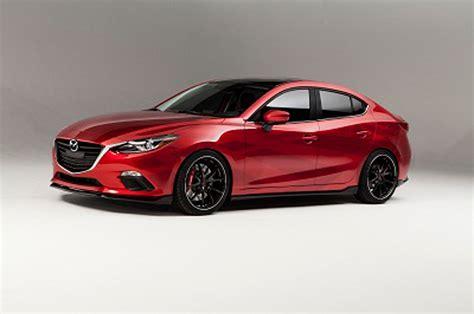 Mazda3, Mazda6 2013 Sema Concepts Are Inspired By Racing