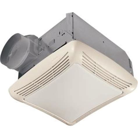 nutone bathroom fan home depot nutone 50 cfm ceiling exhaust bath fan with light 763rln