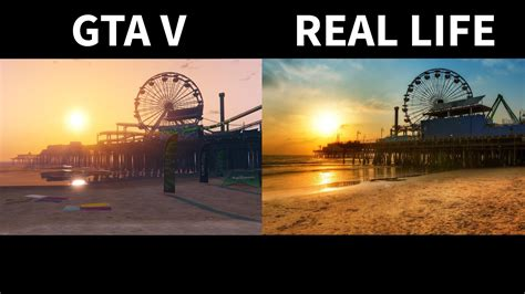 Gta V Vs Real Life [side By Side] Part 2 Youtube